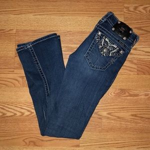 MISS ME Boot Cute Bling Jeans